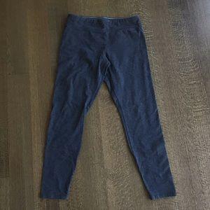MNY size M grey stretch leggings 90% cotton